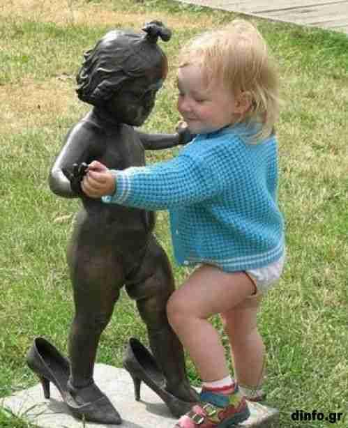 Παρενόχληση αγαλμάτων