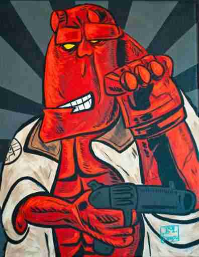 hellboy-picasso-drawing