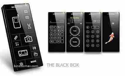 BenQ-Siemens Black Box concept phone