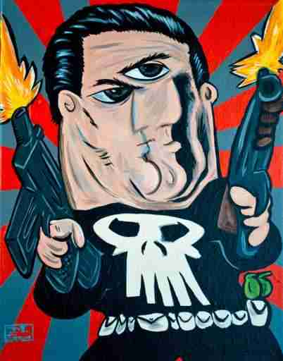punisher-picasso-drawing