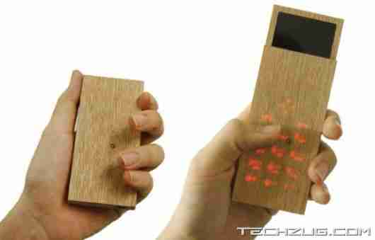 MAPLE WOOD PHONE