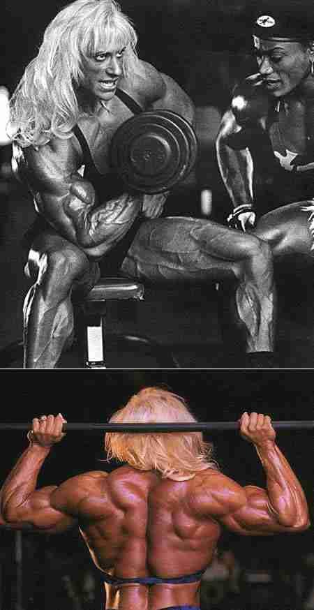 Γυναίκες bodybuilders