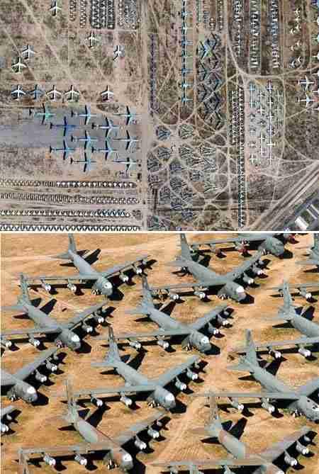 Νεκροταφείο Αεροπλάνων - Αριζόνα,  ΗΠΑ