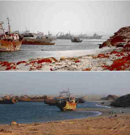 Νεκροταφείο Πλοίων - Μαυριτανία