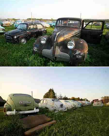 Νεκροταφείο Ρωσικών Αυτοκινήτων