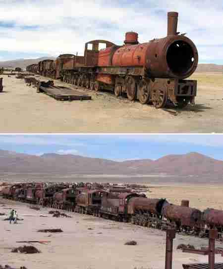 Νεκροταφείο Τρένων - Βολιβία