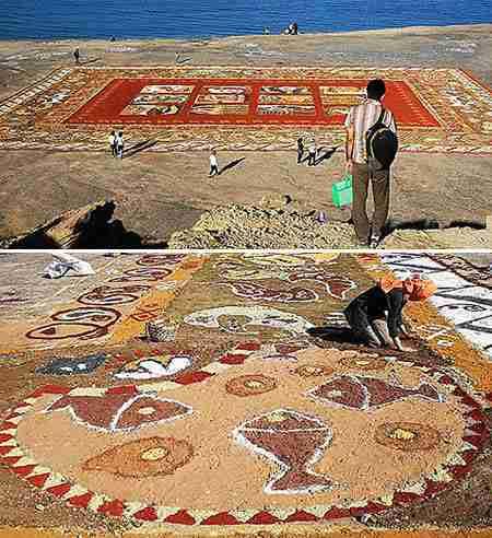 World's Largest Sand Carpet