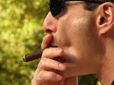 Τσιγάρο μετά το φαγητό