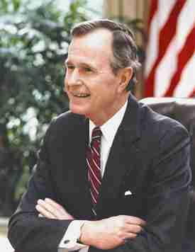 George H.W. Bush - IQ 96