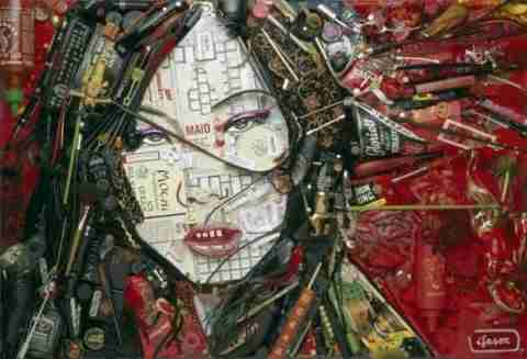 Πορτραίτα από άχρηστα αντικείμενα