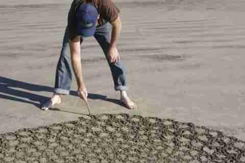 Ο καλλιτέχνης της άμμου