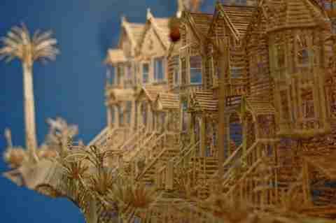 City of toothpicks