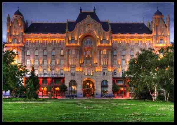 Gresham Palace, Budapest, Hungary