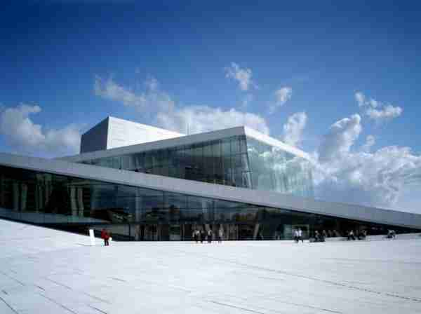 New Norwegian Opera and Ballet, Oslo, Norway
