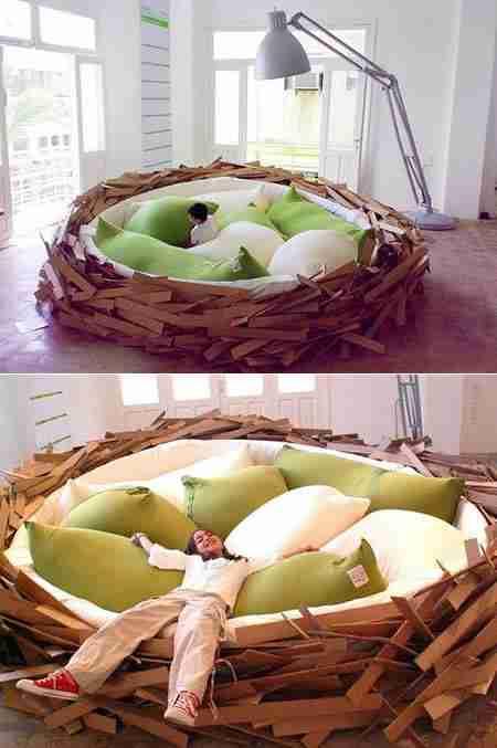 Κρεβάτι φωλιά