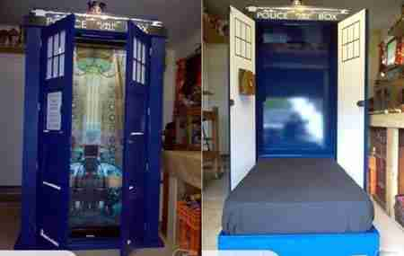 Κρεβάτι Doctor Who