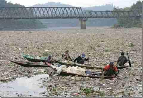 Το πιο βρώμικο ποτάμι στον κόσμο