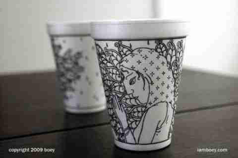 Ο ζωγράφος των ποτηριών