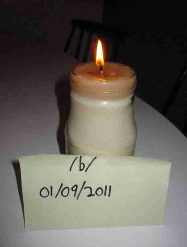 Φτιάξτε κερί από μπέικον