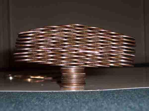 Πύργοι από νομίσματα