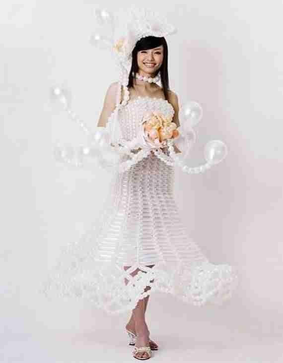 Φόρεμα από λάστιχα