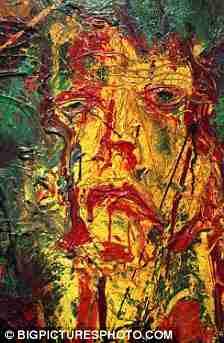 Ο καλλιτέχνης Σιλβέστερ Σταλόνε