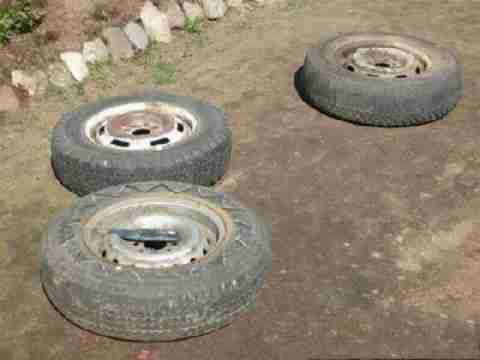 Φτιάξτε διάφορες κατασκευές από παλιά λάστιχα αυτοκινήτων!!!