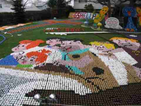 Eggshelland: Η χώρα των πασχαλινών αυγών