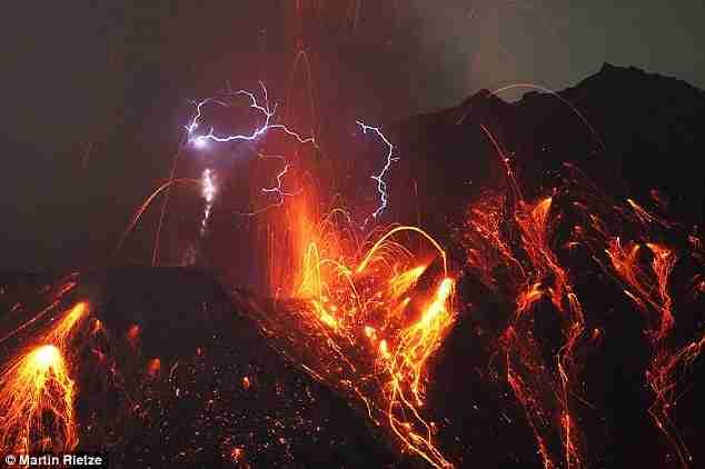 Ηφαίστειο Sakurajima strato