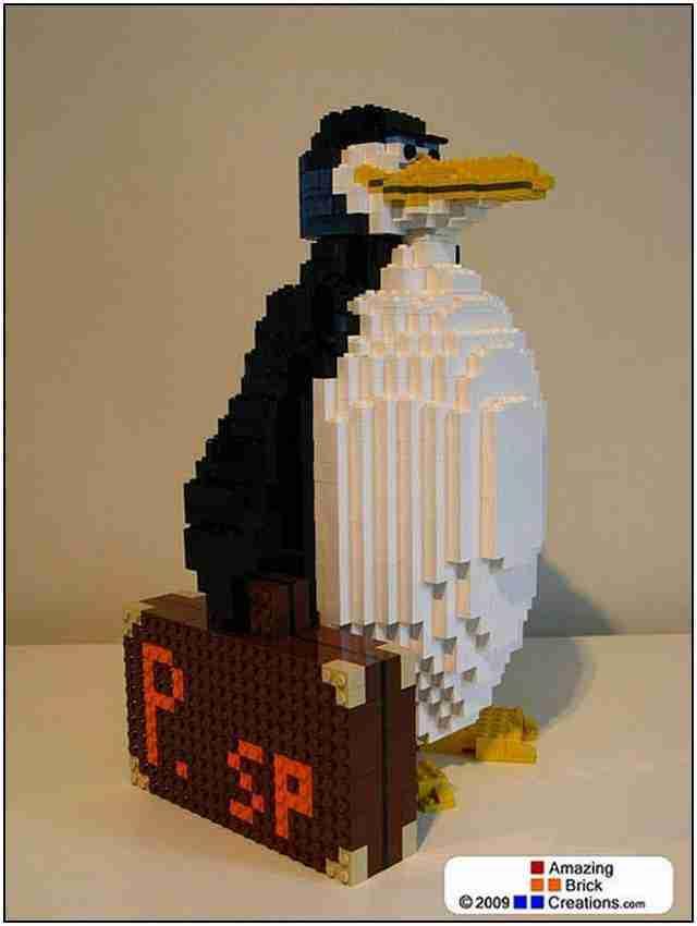 Απίθανες δημιουργίες με τουβλάκια Lego