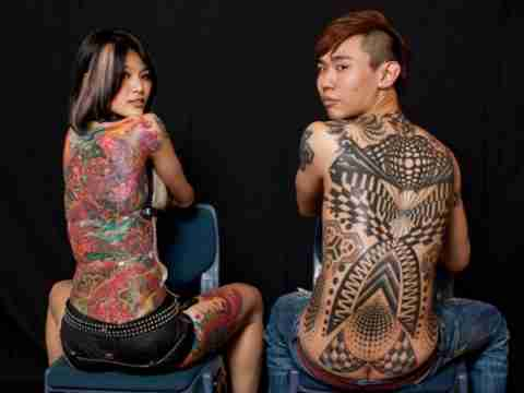 Sydney Tattoo and Body Art Expo 2011