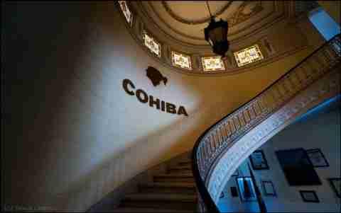 Cohiba Factory