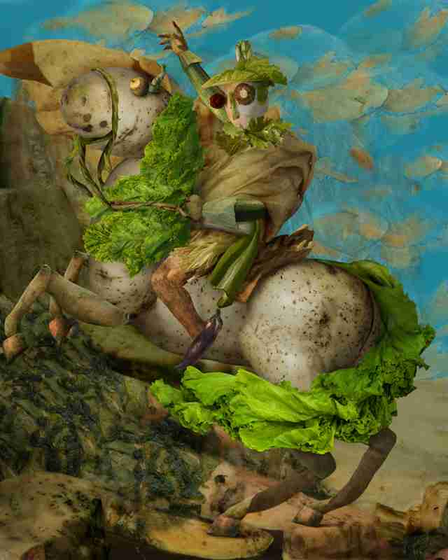 The Vegetable Musem - Ju Duoqi