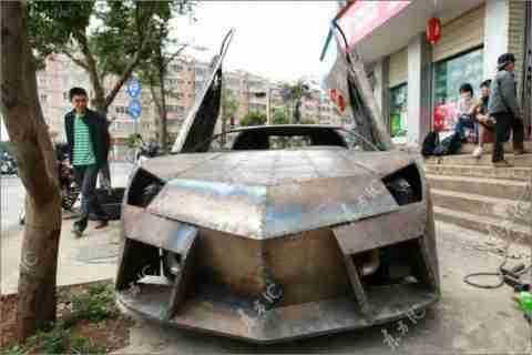 Έφτιαξε την δική του Lamborghini!