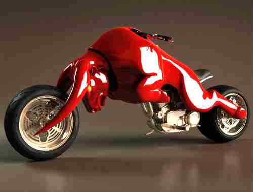 Red Bull Motorcycle Concept