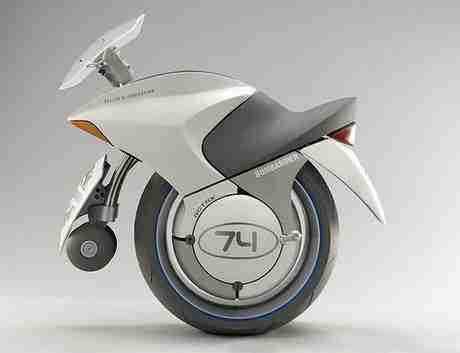 Embrio One-Wheeled Motorcycle Concept