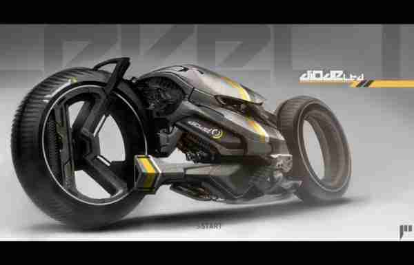 Agorapode Concept Super Bike