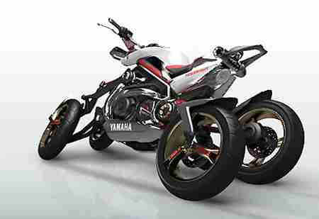 Yamaha Tesseract Four Wheel Motorcycle