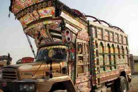Φορτηγά στο Πακιστάν
