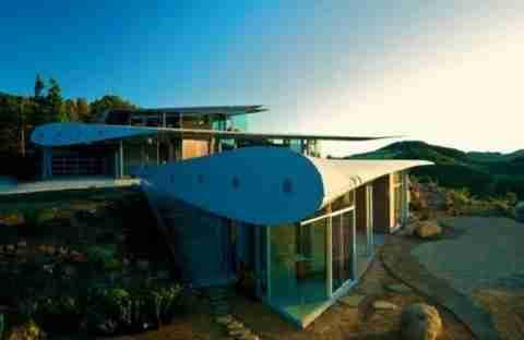 Ένα σπίτι με φτερά!