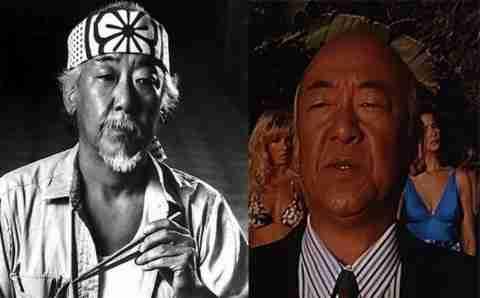 Pat Morita (Mr. Miyagi)