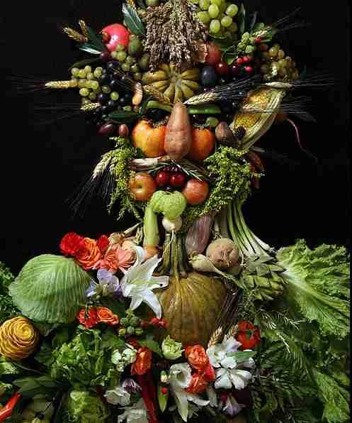 Πορτραίτα από φρούτα