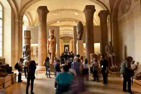 Καλωσήρθατε στο μουσείο του Λούβρου