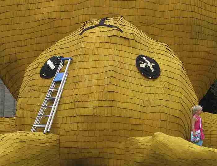 Το τεράστιο κίτρινο κουνέλι