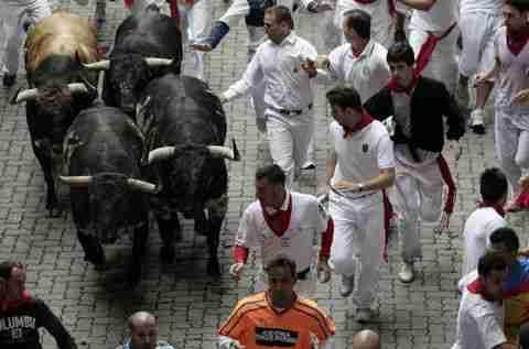 Κυνηγητό με τους ταύρους