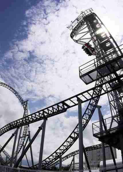 Το Rollercoaster με την πιο απότομη κλίση!