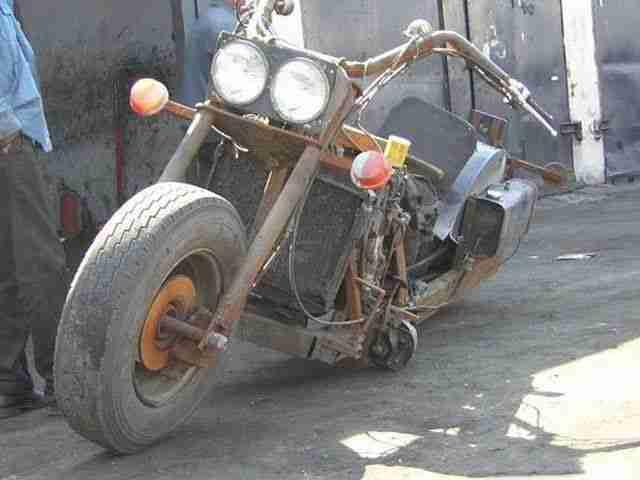 Έφτιαξε την δική του Chopper