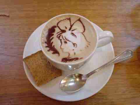 Latte Art, η τέχνη του καφέ