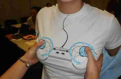 T-Shirt Χειριστήριο PlayStation