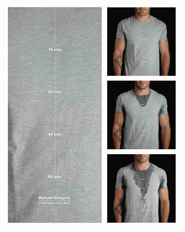 T-Shirt Μετρητής ιδρώτα